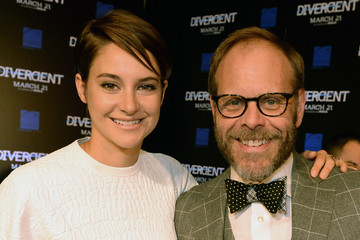 Photo of Alton Brown & his friend actress  Shailene Woodley -