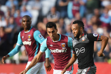 Alvaro Arbeloa West Ham United v Southampton - Premier League