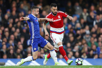 Alvaro Negredo Chelsea v Middlesbrough - Premier League