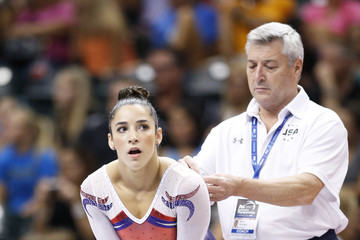 Aly Raisman 2015 P&G Gymnastics Championships - Women's Final