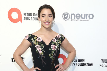 Aly Raisman IMDb LIVE Presented By M&M'S At The Elton John AIDS Foundation Academy Awards Viewing Party