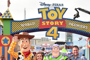 Alyson Hannigan Satyana Marie Denisof The World Premiere Of Disney And Pixar's 'TOY STORY 4'