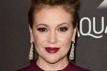 Alyssa Milano 2016 InStyle and Warner Bros. 73rd Annual Golden Globe Awards Post-Party - Arrivals