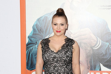 Alyssa Milano Premiere Of Warner Bros. Pictures' 'Get Hard' - Arrivals