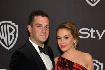 Alyssa Milano The 2019 InStyle And Warner Bros. 76th Annual Golden Globe Awards Post-Party - Red Carpet