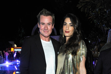 Amal Clooney Farfetch and William Vintage Celebrate Gianni Versace Archive hosted by Elizabeth Stewart and William Banks-Blaney