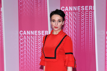 Amanda Abbington Closing Ceremony And 'Safe' Pink Carpet Arrivals - The 1st Cannes International Series Festival