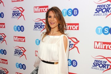 Amanda Byram Daily Mirror Pride of Sport Awards - Arrivals