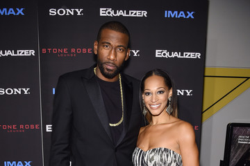 Amare Stoudemire Alexis Welch 'The Equalizer' Premieres in NYC