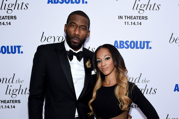 Amare Stoudemire Alexis Welch 'Beyond the Lights' Premiere