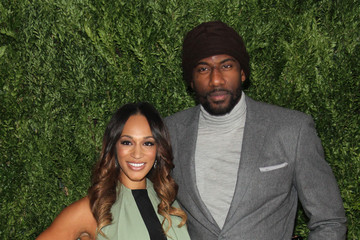 Amare Stoudemire Alexis Welch Arrivals at the Fashion Fund Finalists Celebration
