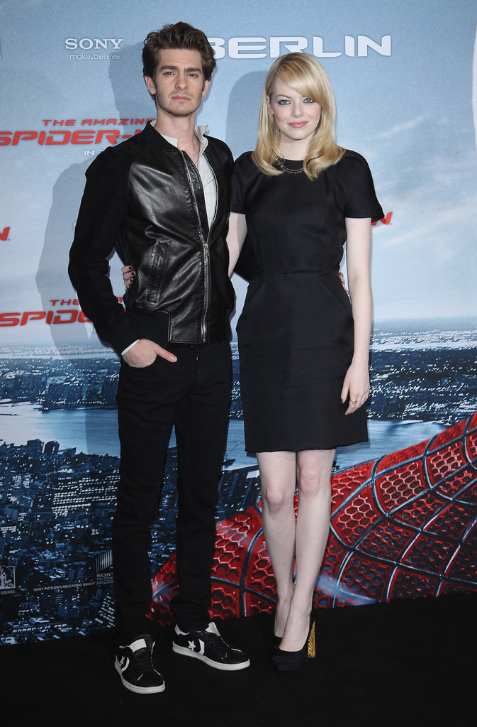 films emma stone andrew garfield timeline relationship