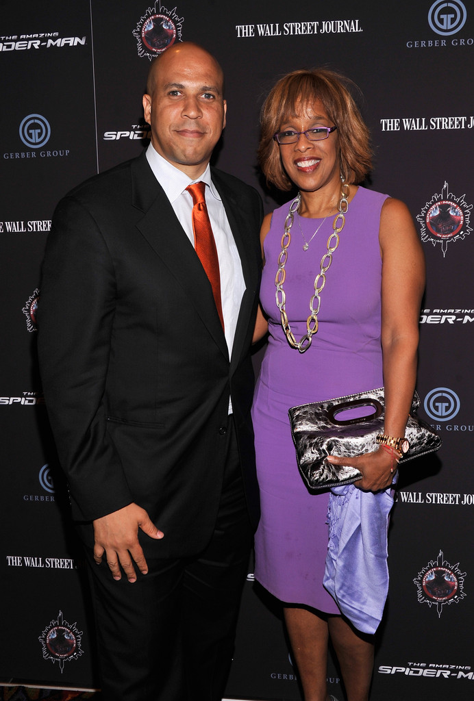 gayle king and cory booker photos photos quotthe amazing