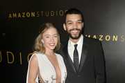 Sydney Sweeney and Justice Smith attends the Amazon Studios Golden Globes After Party at The Beverly Hilton Hotel on January 05, 2020 in Beverly Hills, California.