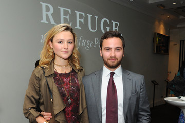 Amber Atherton London Premiere Of Refuge