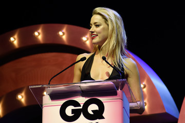 Amber Heard GQ Men of the Year Awards - Ceremony