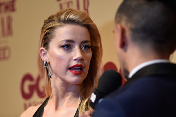 Amber Heard GQ Men of the Year Awards - Red Carpet