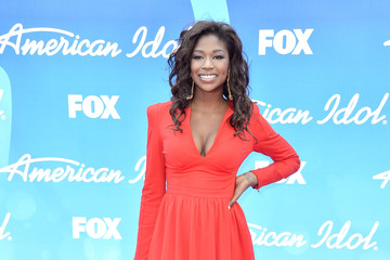 Amber Holcomb Arrivals at the 'American Idol' Results Show