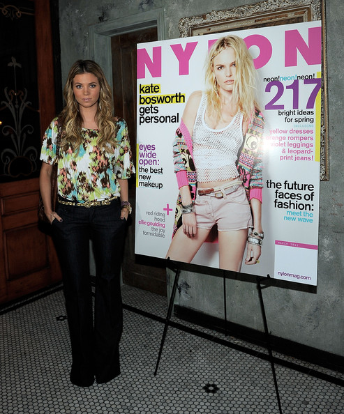 Cover Star Kate Bosworth Hosts Nylon Magazine March Issue Celebration Presented By Habitual