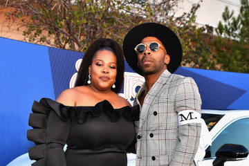 Amber Riley BET Presents: 2018 Soul Train Awards - Red Carpet & Arrivals