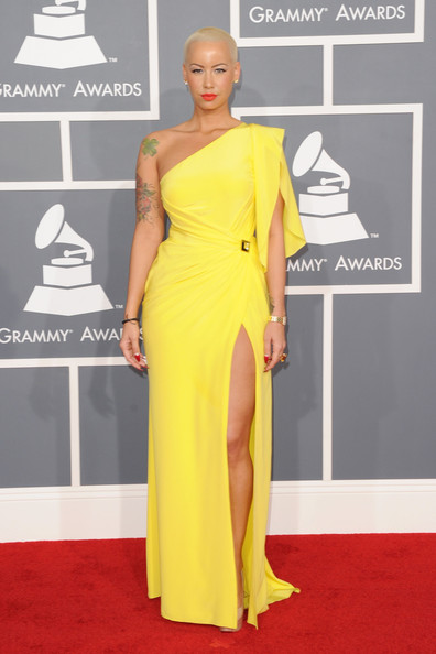 Amber Rose - The 54th Annual GRAMMY Awards - Arrivals
