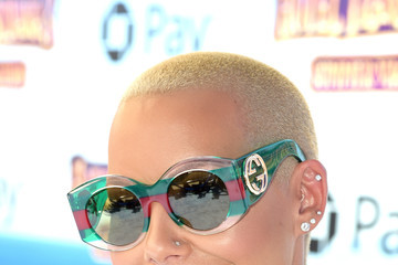 Amber Rose Columbia Pictures And Sony Pictures Animation's World Premiere Of 'Hotel Transylvania 3: Summer Vacation' - Red Carpet