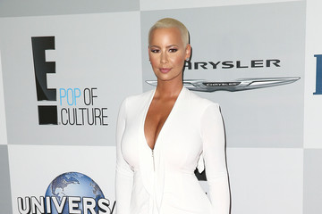 Amber Rose NBCUniversal's 72nd Annual Golden Globes After Party - Arrivals