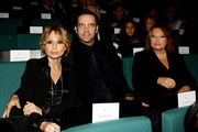 (L-R) Marina Berlusconi, Maurizio Vanadia, Carla Elvira Lucia Dall'Oglio attend the Ambrogino D'Oro 2009 on December 7, 2009 in Milan, Italy. The Ambrogino D'Oro is an annual ceremony at which the Mayor of Milan rewards the best of Milan in the fields of culture, fashion, business and charity.