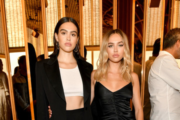 Amelia Hamlin E!, ELLE, And IMG Presented By TRESemmé Host NYFW Kick-Off Party - Inside