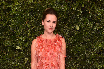 Amelia Warner Charles Finch And Chanel Pre-Oscar Awards Dinner At Madeo In Beverly Hills - Arrivals