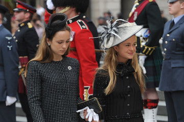 Amelia Windsor National Service Of Thanksgiving To Celebrate The Queen's 90th Birthday