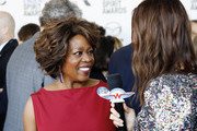 (L-R) Alfre Woodard and Catt Sadler attend The 2020 Film Independent Spirit Awards with American Airlines at The 2020 Film Independent Spirit Awards on February 08, 2020 in Santa Monica, California.
