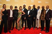 """The cast of """"The Wire"""" attends the American Black Film Festival Honors Awards Ceremony at The Beverly Hilton Hotel on February 23, 2020 in Beverly Hills, California."""