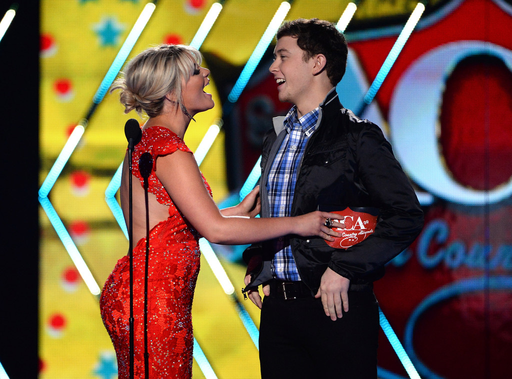 is scotty mccreery dating lauren alaina 2014 They say a kiss is just a kiss but was it romantic, friendly or just congratulatory after ryan seacrest announced that scotty mccreery was the winner of american idol on wednesday's finale, runner-up lauren alaina planted one on the country heartthrob.