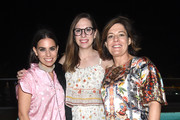 Ally Hilfiger, Amy Marino and Rachel Stocks attends American Express Platinum House At The 1 Hotel South Beach at 1 Hotel South Beach on December 6, 2018 in Miami, Florida.