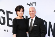 Marilyn Katzenberg (L) and Jeffrey Katzenberg attend the American Film Institute's 46th Life Achievement Award Gala Tribute to George Clooney at Dolby Theatre  on June 7, 2018 in Hollywood, California.