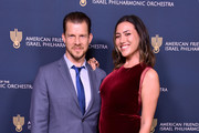 Actor Eric Mabius and Jessica Harris arrive at the American Friends of the Israel Philharmonic Orchestra Los Angeles Gala at Wallis Annenberg Center for the Performing Arts on October 25, 2018 in Beverly Hills, California.