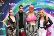 Roxane Mesquida, Avan Jogia, Jazzmyne Robbins and Kelli Berglund attend American Gods & Now Apocalypse Live Viewing Party At #TwitterHouse at Lustre Pearl on March 10, 2019 in Austin, Texas.