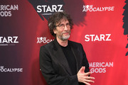 Neil Gaiman attends American Gods & Now Apocalypse Live Viewing Party At #TwitterHouse at Lustre Pearl on March 10, 2019 in Austin, Texas.