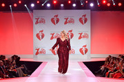 Meghan Trainor walks the runway at The American Heart Association's Go Red For Women Red Dress Collection 2020 at Hammerstein Ballroom on February 05, 2020 in New York City.