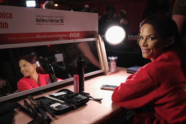 The American Heart Association's Go Red For Women Red Dress Collection 2017 Presented By Macy's at Fashion Week in New York City - Backstage