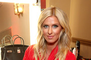 Nicky Hilton Rothschild prepares backstage at The American Heart Association's Go Red For Women Red Dress Collection 2020 at Hammerstein Ballroom on February 05, 2020 in New York City.