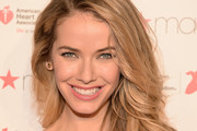 Olivia Jordan attends The American Heart Association's Go Red For Women Red Dress Collection 2016 Presented By Macy's at The Arc, Skylight at Moynihan Station on February 11, 2016 in New York City.