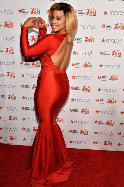 Actress Dascha Polanco attends the Go Red For Women Red Dress Collection 2015 presented by Macy's fashion show during Mercedes-Benz Fashion Week Fall 2015 at Lincoln Center on February 12, 2015 in New York City.