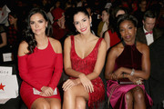 American Heart Association Go Red For Women Red Dress Collection 2015 Presented By Macy's At Mercedes-Benz Fashion Week - Front Row