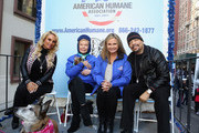 Coco Austin, Lois Pope, Dr. Robin Ganzert and Ice-T attend America Salutes Four-Legged Military Heroes During 2014 Veterans Day Parade on November 11, 2014 in New York City.