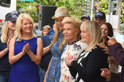 Barbara Niven, Beth Stern, Lois Pope and Candy Spelling attend the American Humane unveiling of the California Rescue Truck at The Beverly Hilton Hotel on September 15, 2017 in Beverly Hills, California.