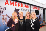 Adrienne Maloof, Lois Pope, Robin Ganzert and Candy Spelling attend the American Humane unveiling of the California Rescue Truck at The Beverly Hilton Hotel on September 15, 2017 in Beverly Hills, California.