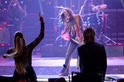 """Musician Steven Tyler performs onstage with American Idol judges Jennifer Lopez and Keith Urban during """"American Idol"""" XIV Grand Finale at Dolby Theatre on May 13, 2015 in Hollywood, California."""