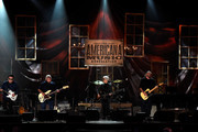 Cesar Rosas, Conrad Lozano, Louie Perez, and David Hidalgo of Los Lobos perform onstage at the 14th annual Americana Music Association Honors and Awards Show at the Ryman Auditorium on September 16, 2015 in Nashville, Tennessee.